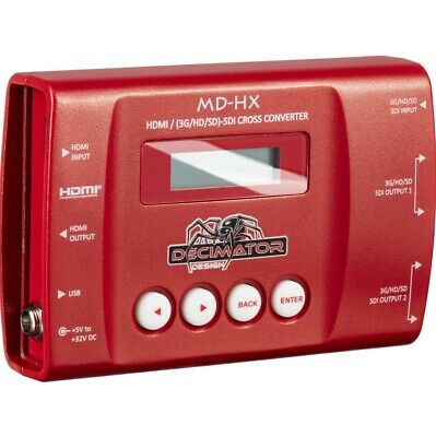 DECIMATOR MD-HX Mini HDMI/SDI Cross Converter - free shipping