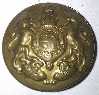 Bouton de veste en laiton de la British Army General Service WWI Uniform button