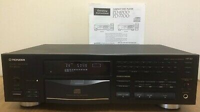 Pioneer PD-8700 CD Player Stable Platter - Excellent
