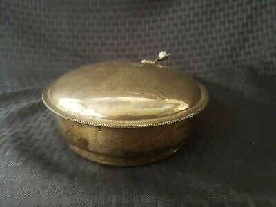Vintage Sheffield Silver Plated Crumb Catcher Silent Butler With Brush
