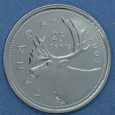 Canada 2003 P Old Effigy Quarter  - Very High Grade - Proof-like/Non Circulating