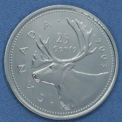 Canada 2003 WP Quarter from set- High Grade - Proof-like/Non Circulating 2