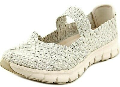 Skechers 8 Synergy Good Vibes Natural Beige Stretch Weave