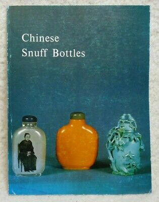 Chinese Snuff Bottles. Hugh M. Moss Ltd 1976 Catalogue. B & W. 198 Bottles.