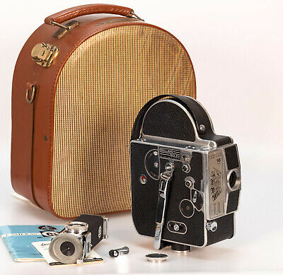 Bolex H16M // Finder PC-12 // Sn:161754 (1959) // Professional 16mm Film Camera