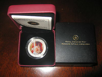 Canada Her Majesty Queen Elizabeth II Coronation - 25 Cents Coloured Coin (2013)