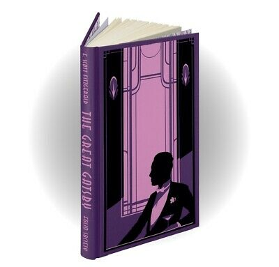 Folio Society - The Great Gatsby by F Scott Fitzgerald - New & Sealed - Sold Out