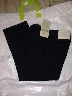 Monsoon Boys Age 5 Black Smart Stripped Occasion Trousers