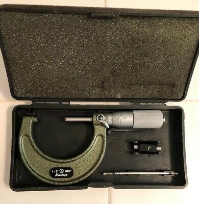 MITUTOYO OUTSIDE MICROMETER MODEL No. 103-136 1-2 INCH/ 0.0001