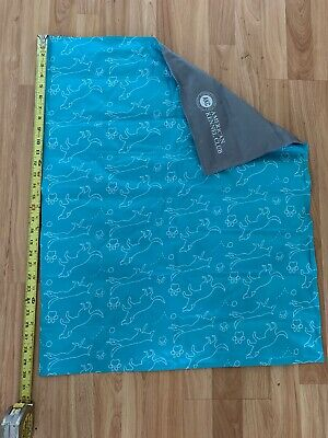 "American Kennel Club Reversible Pet Dog Cooling Mat – XL 30"" x 24"" Used No Box"