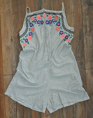 NEXT Girls Playsuit Outfit Summer Beach Holiday Shorts Age 12 Years