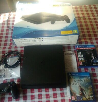 Sony PS4 Play Station Console 500GB  ancora in garanzia