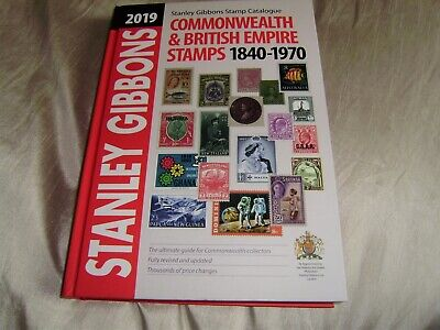 2019 Stanley Gibbons Commonwealth & British Empire Stamps Catalogue