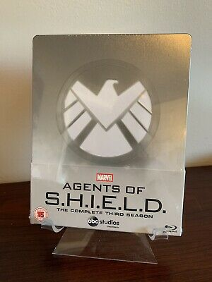 Marvel Agents of SHIELD Complete Third Season 3 Steelbook (Blu-ray) Sealed