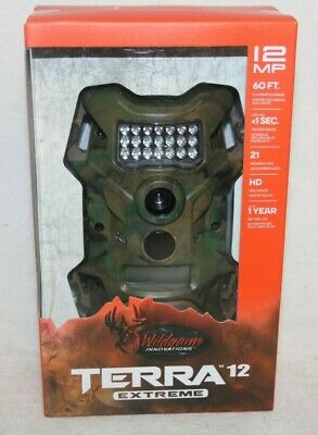 Wildgame Innovations Terra Extreme 12 MP Infrared Digital Scouting Game Camera