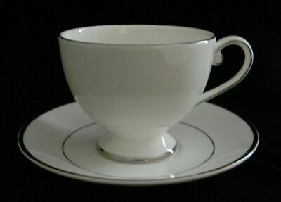 "Mikasa Ultima+ ""CAMEO PLATINUM"" CUP AND SAUCER - New - Free Shipping"