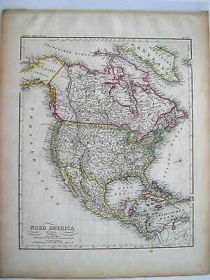 Meyer Nord-America 1853: Map of North America