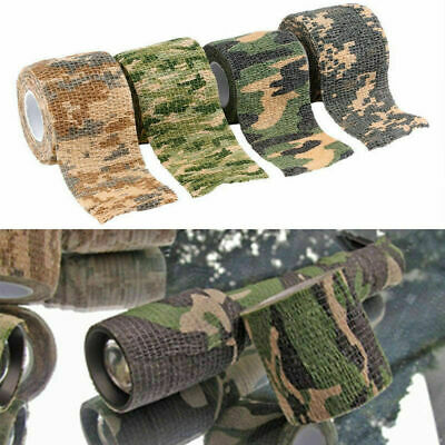 5CMx4.5M Camo Waterproof Wrap Hunting Camping Hiking Tap Stealth Camouflage N5U7
