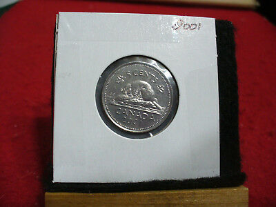 2001  Canada  1  Nickel 5 Cents  Coin  Proof Like Sealed  01   High  Grade