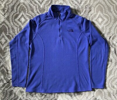 c8978e59e ALPINE DESIGN WOMEN'S Purple L/S 1/4 Zip Fleece Pullover ~ Large ...