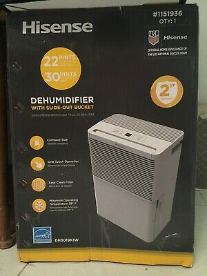 50 PINT DEHUMIDIFIER Low Temp 40° With Drain Hose Connection