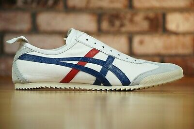 Onitsuka Tiger Nippon Made in Japan MEXICO DELUXE Slip-On 1181A145 White US 10