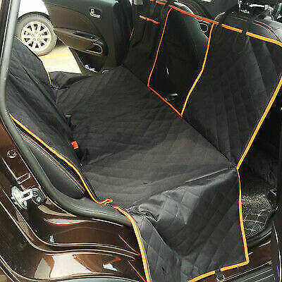 Dog Car Seat Cover Hammock Waterproof for Cat Pet SUV Van Back Rear Bench Pad