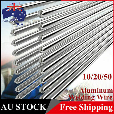 2*500mm Low Temperature Aluminum Flux Cored Welding Wire Repair Rods Tool 10-50