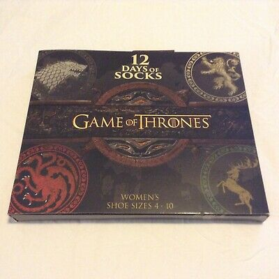 Game Of Thrones 12 Days Of Socks BOX ONLY