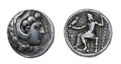 Kings of Macedon Alexander  the Great AR tetradrachm , under Stamenes or archon
