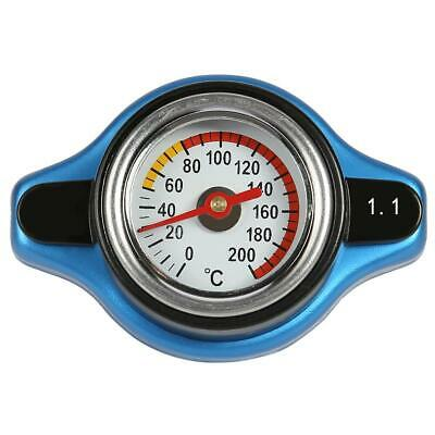 Car Moto 1.1Bar Thermo Thermostatic Radiator cap Cover water temperature Gauge