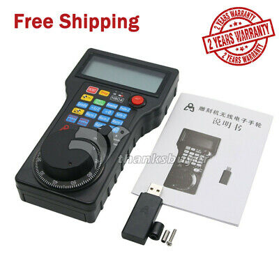 CNC 4Axis Wireless Handwheel MPG Pendant USB Mach3 for CNC 4Axis Milling Machine