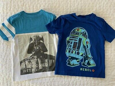 Gymboree Boys Star Wars T Shirt Set, Size 2T