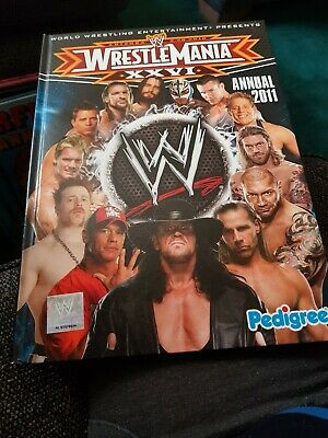 Wrestlemania Annual 2011 X EXCELLENT CONDITION FOR AGE X LIKE NEW X 2646 X