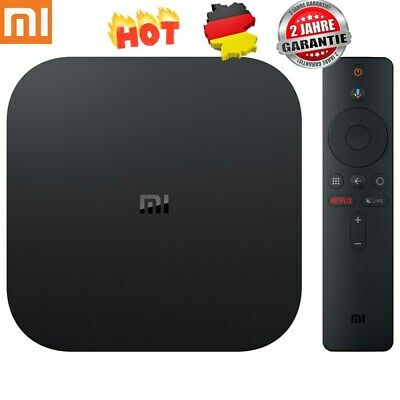 Xiaomi Mi TV Box S 4K HDR Android Quad Core 2+8GB HDMI2.0 Dual WiFi BT TV-BOX 3D