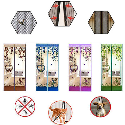 Magic Anti-Insect Fly Bug Mosquito Door Window Curtain Net Mesh Screen Protector