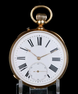 Antique 18K Gold Pocket Watch. Possible Patek Philippe. Switzerland circa 1900