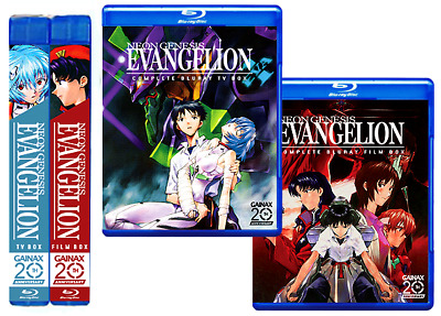 Neon Genesis Evangelion Complete Series 7-Disc Bluray Box ORIGINAL ENGLISH DUB