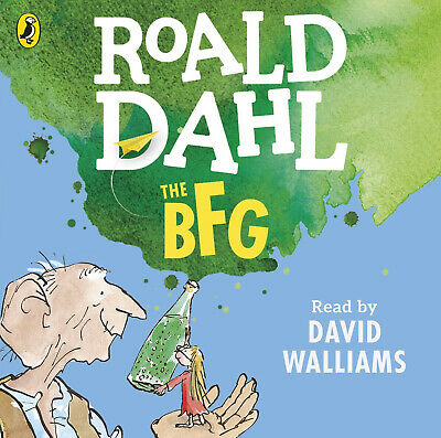 AUDIO BOOK CD - Roald Dahl The BFG Read By David Walliams 4 CDs UNABRIDGED 265ms