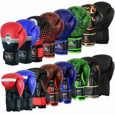 Be Smart Professional Boxing Gloves Sparring Glove Punch Bag Training MMA Mitts
