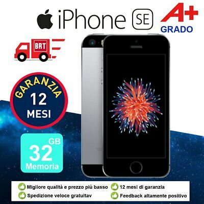 Grado A+ Apple iPhone SE 32GB SPACE GRAY SBLOCCATO Telefoni GRIGIO SIDERALE IT