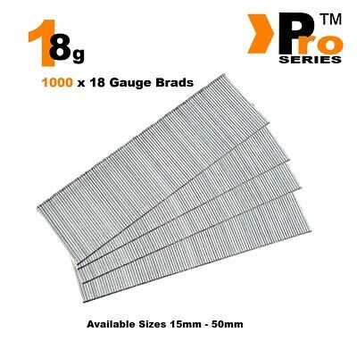 18 Gauge Brad Nails 1000 ( Starter Pack )