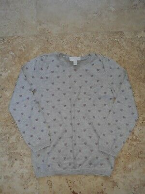 The Little White Company Girls Jumper Age 7-8