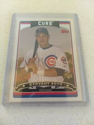 2006 Topps Chicago Cubs Baseball Card #623 Geovany Soto Rookie