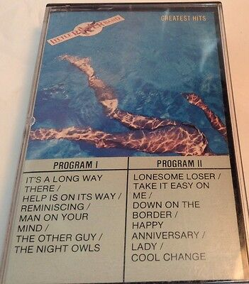 LITTLE RIVER BAND Tape Cassette GREATEST HITS 1982 Capitol Canada 4XT-512247