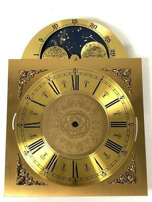 Musical Strike/Silent Hermle Kieninger Dial Longcase Brass Arched Dial moonphase