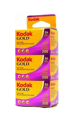 Kodak Gold 200ASA 36exp Pack Of Three