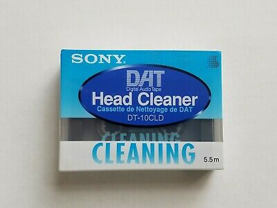 SONY DAT Head Cleaner Tape DT-10CLD