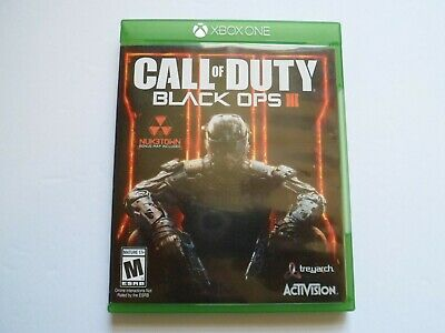 Call of Duty: Black Ops III 3 (Microsoft Xbox One, 2015) Great Condition
