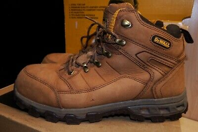 b30a1cd4bfc DEWALT PRO-LITE COMFORT Safety Boots Brown Sb P Sra Size Uk 9 Eu 43 ...